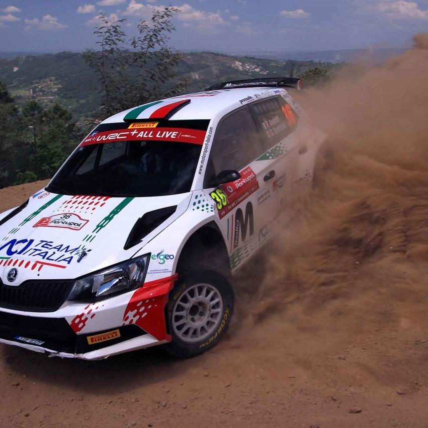 2018 Rally di Portogallo (WRC 2) Andolfi