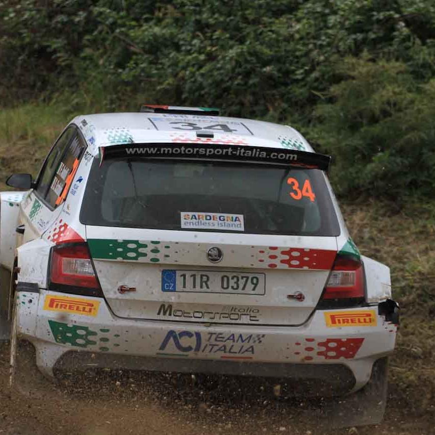 2018 Rally di Sardegna (WRC 2) Andolfi - Guerra