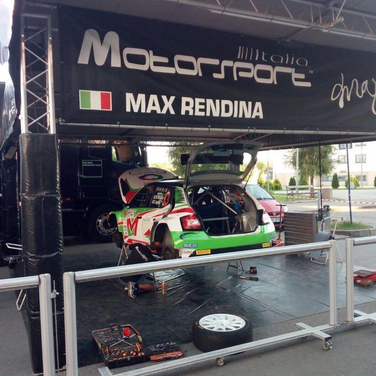 2017 Rally di Polonia (WRC 2) Max Rendina
