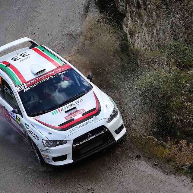 2015 Rally di Corsica (WRC 2) Max Rendina