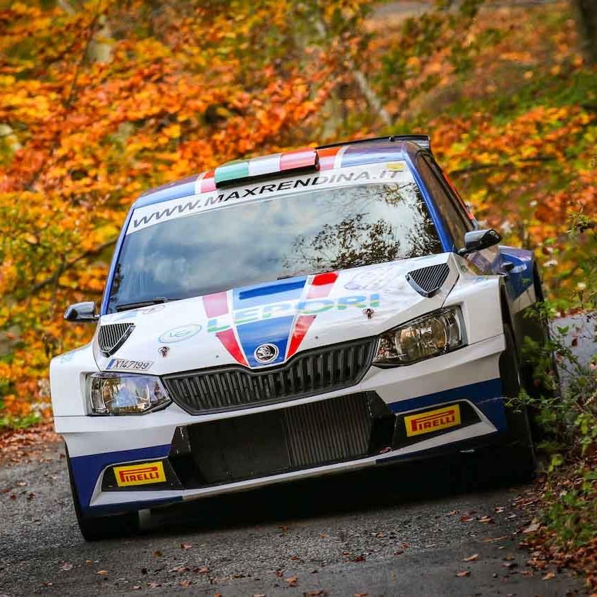 2018 Rally di Como - Max Rendina