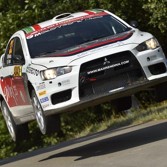 2015 Rally di Germania (WRC 2) Max Rendina