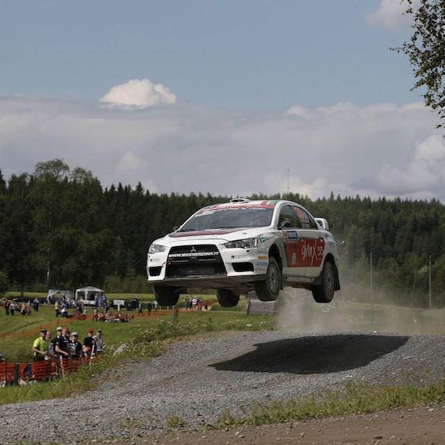 2015 Rally di Finlandia (WRC 2) Max Rendina