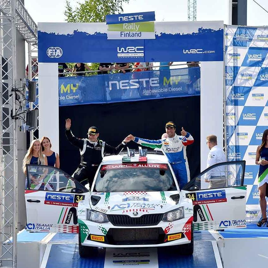 2018 Rally di Finlandia (WRC 2) Andolfi