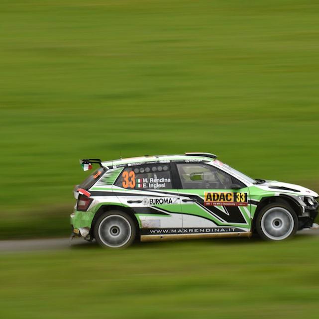 2016 Rally di Germania (WRC 2) Max Rendina