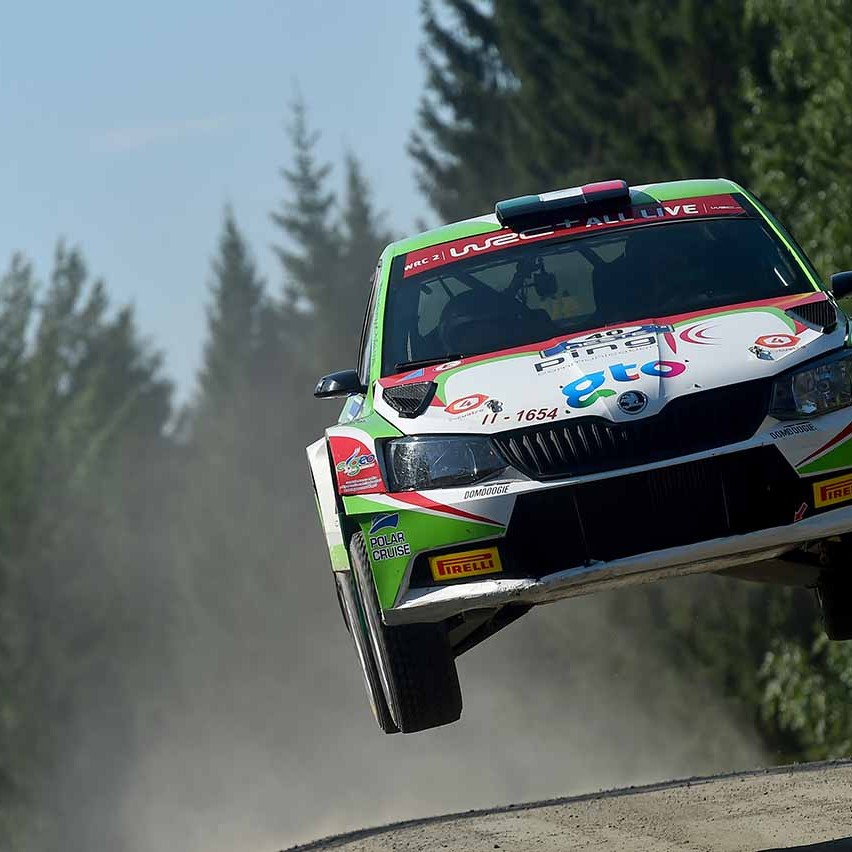 2018 Rally di Finlandia (WRC 2) Guerra