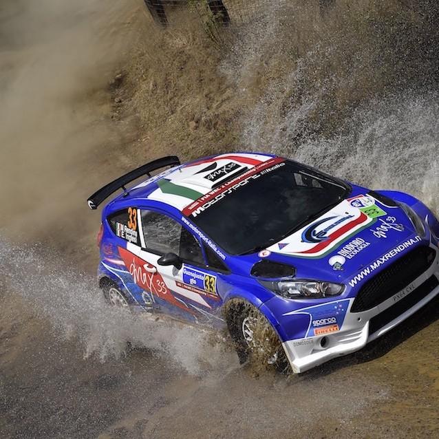 2016 Rally del Messico (WRC 2) Max Rendina
