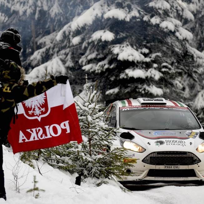 2016 Rally di Svezia (WRC 2) Max Rendina