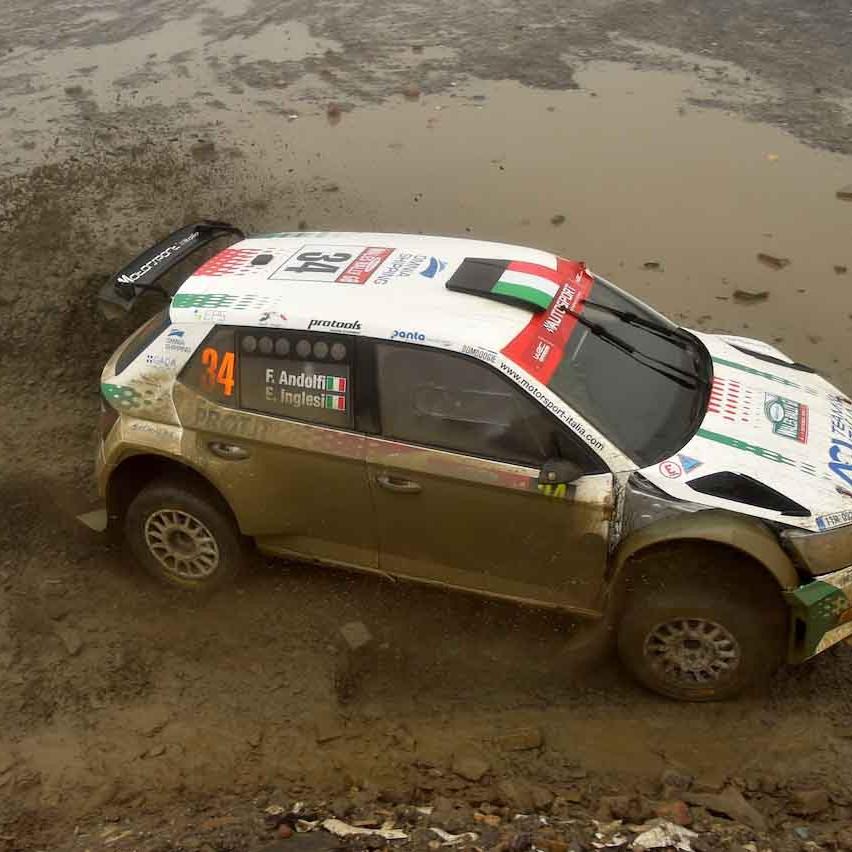 2018 Rally di Gran Bretagna (WRC 2) Andolfi