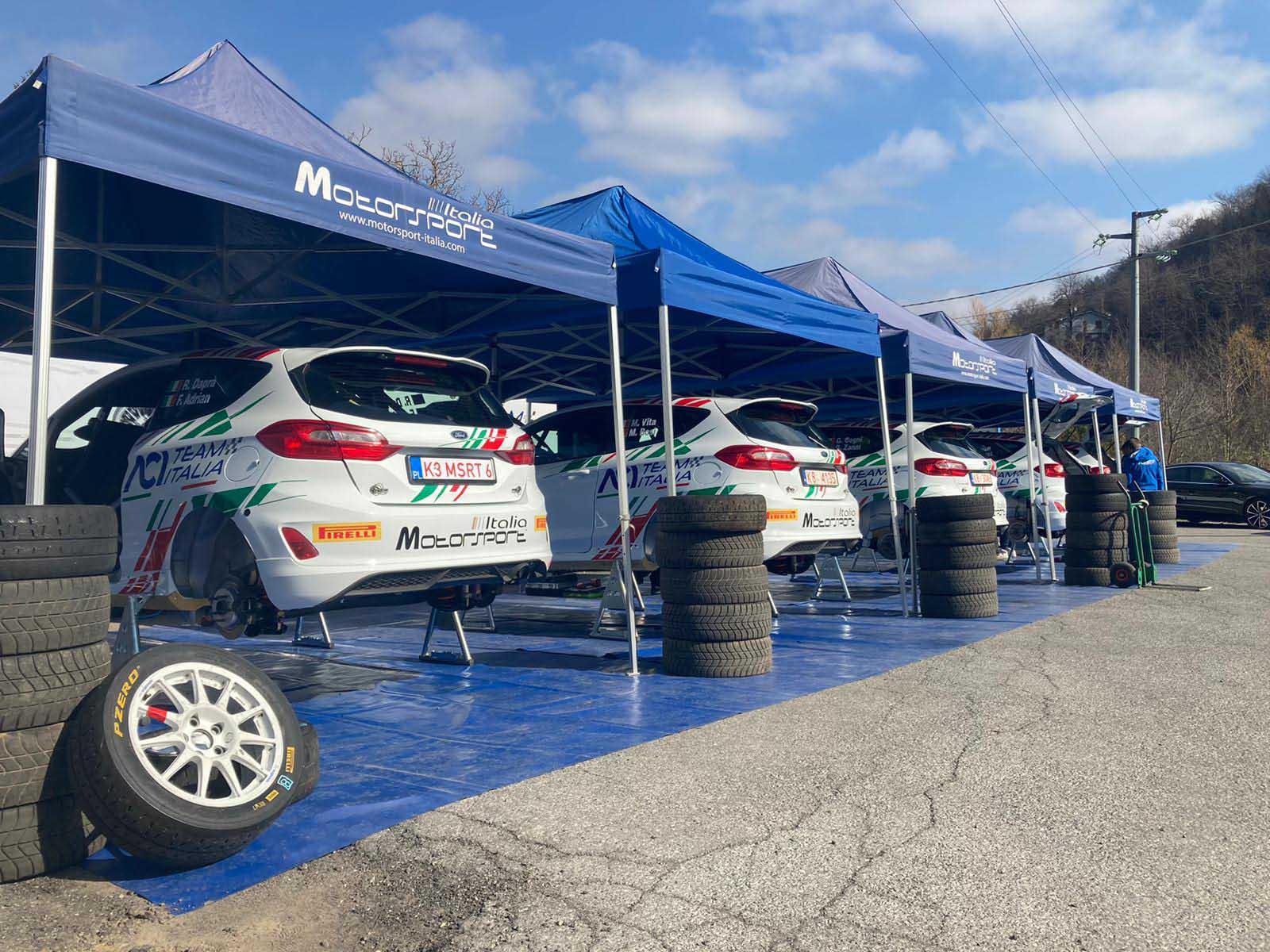 Inizia con i test pre-stagione il Campionato Italiano Rally Junior 2021