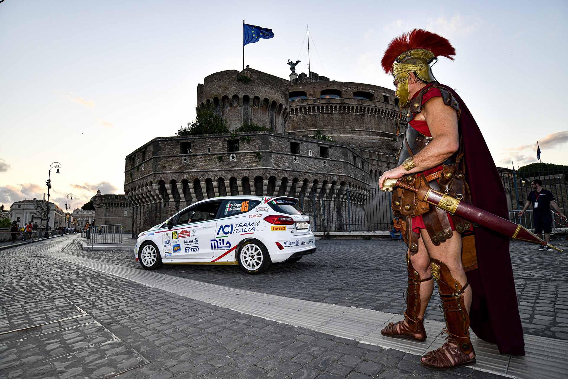 Rally di Roma, Mazzocchi e Rosso sulle Ford Fiesta primi vincitori del CIR Junior