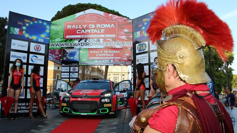 Rally di Roma al Circo Massimo, prova spettacolo a Caracalla