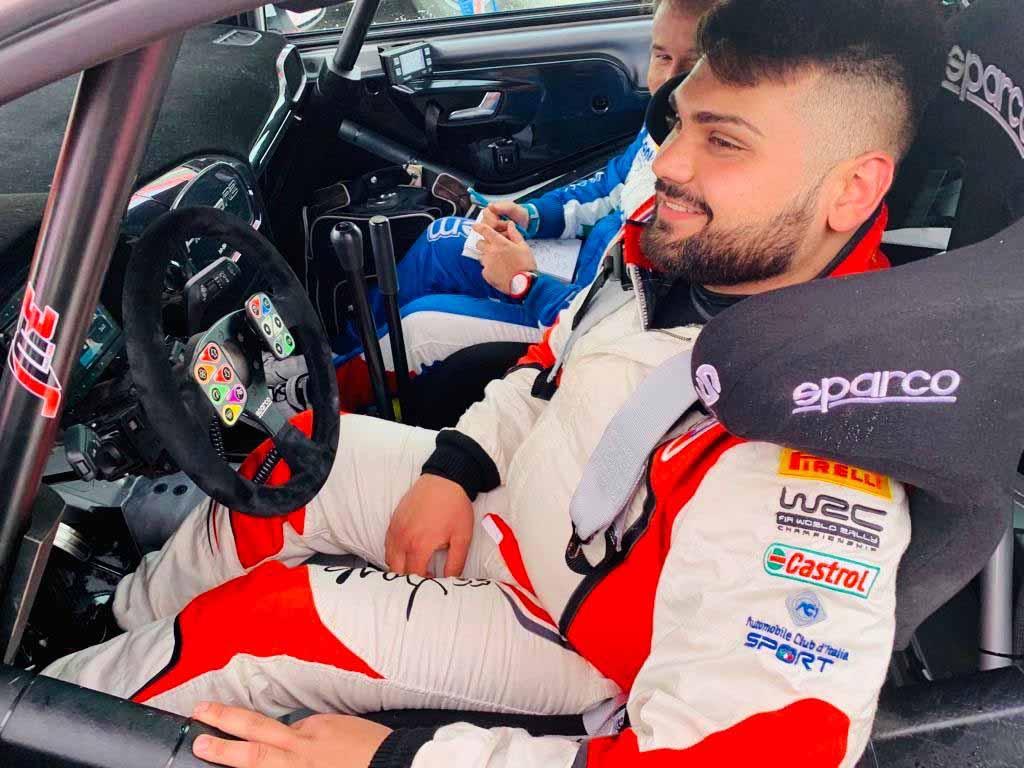 Max ed Ivan Rendina tornano al Rally di Sperlonga