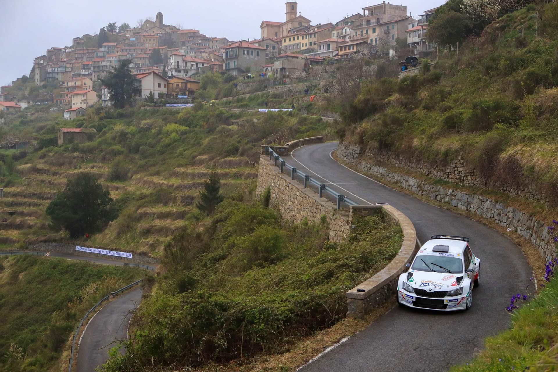 Andolfi ancora a podio al 68° Rallye Sanremo dopo essere stato leader