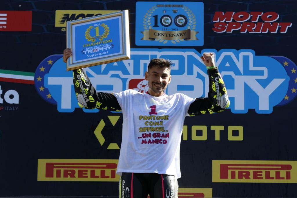 Armando Pontone è campione del National Trophy 600 2021