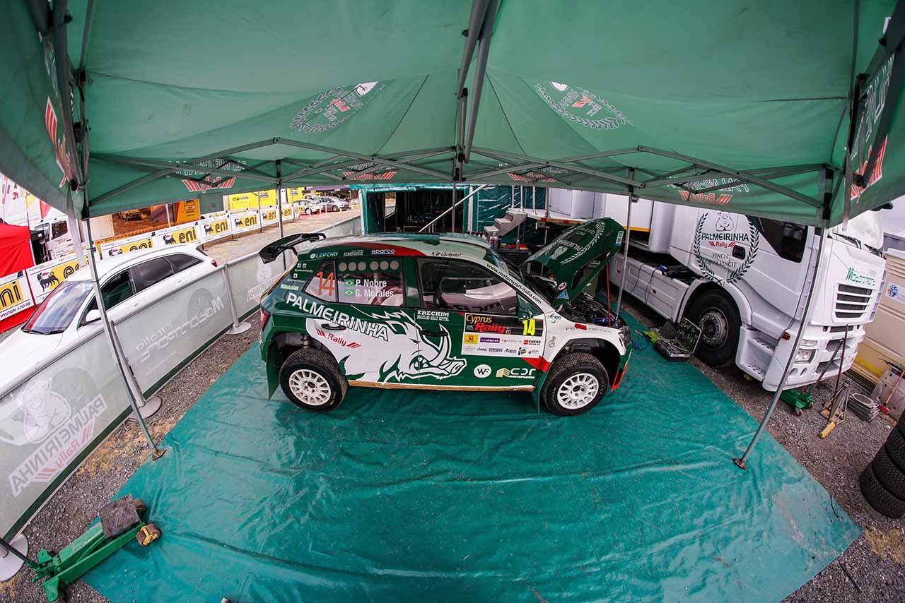 Motorsport  Italia con Paulo Nobre al Rally di Cipro 2019