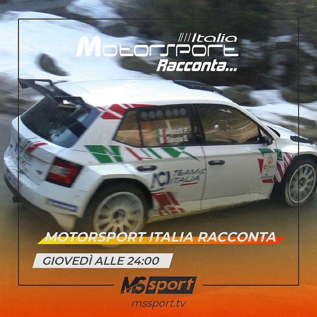 Questa sera alle 24:00 nuovo appuntamento con Motorsport Italia Racconta...