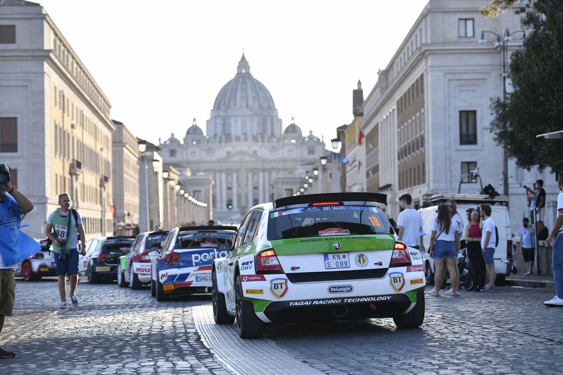 Una spettacolare prova speciale alle Terme di Caracalla aprirà il Rally di Roma Capitale 2021