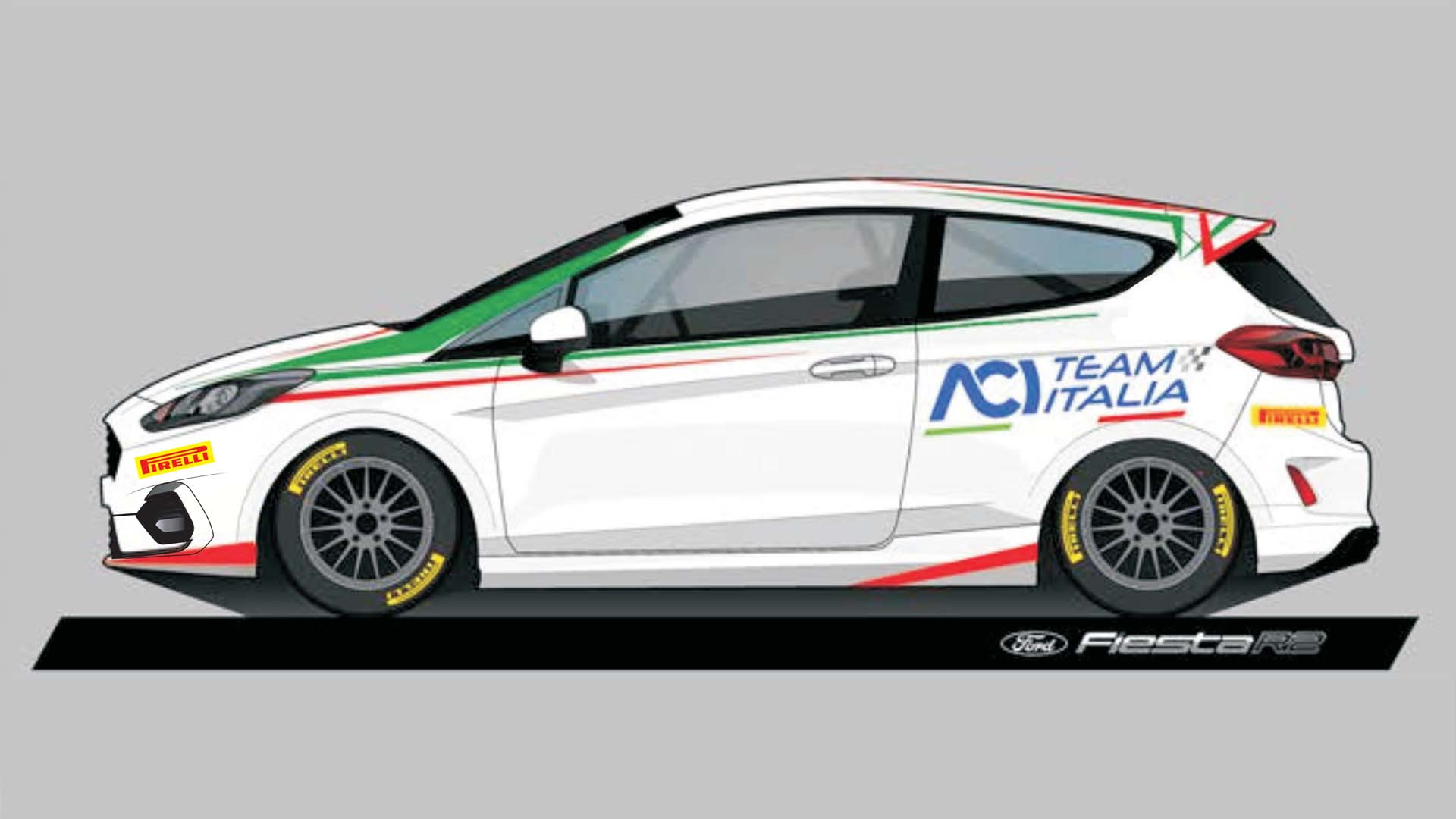 Ford Fiesta Rally 4