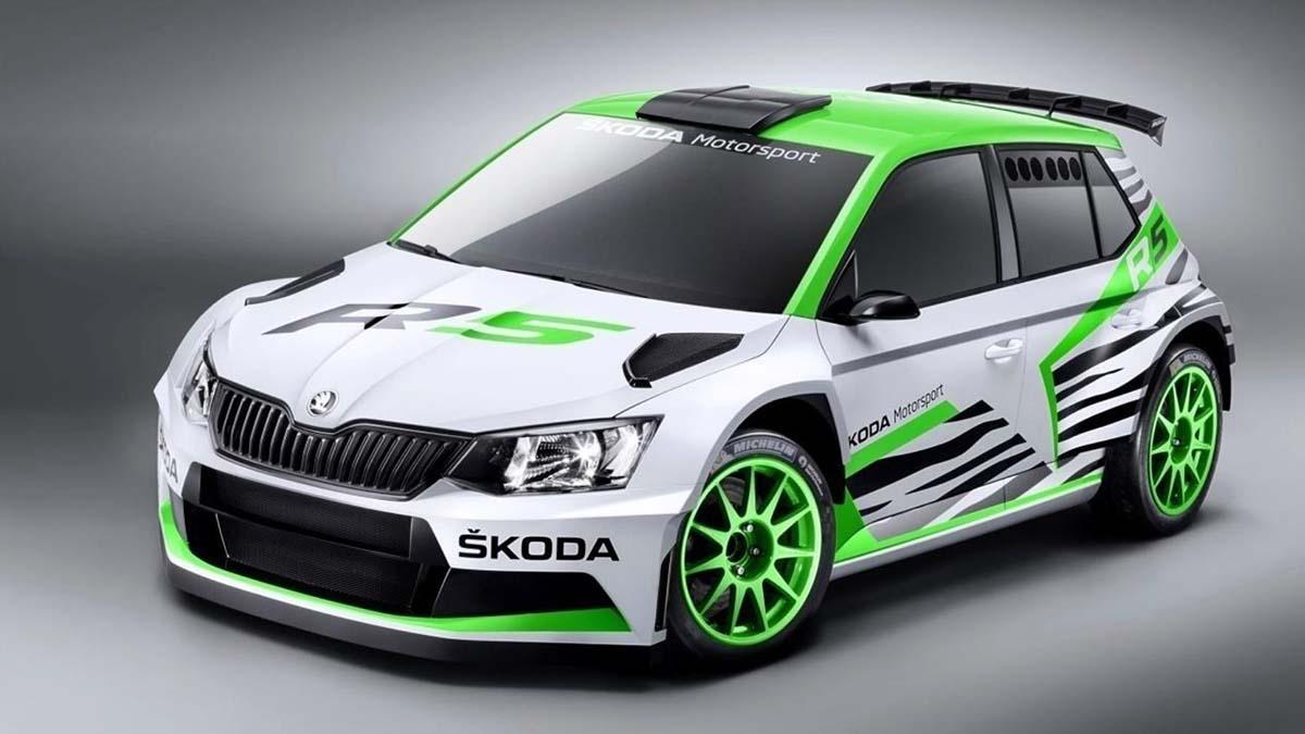 Skoda Fabia Rally 2
