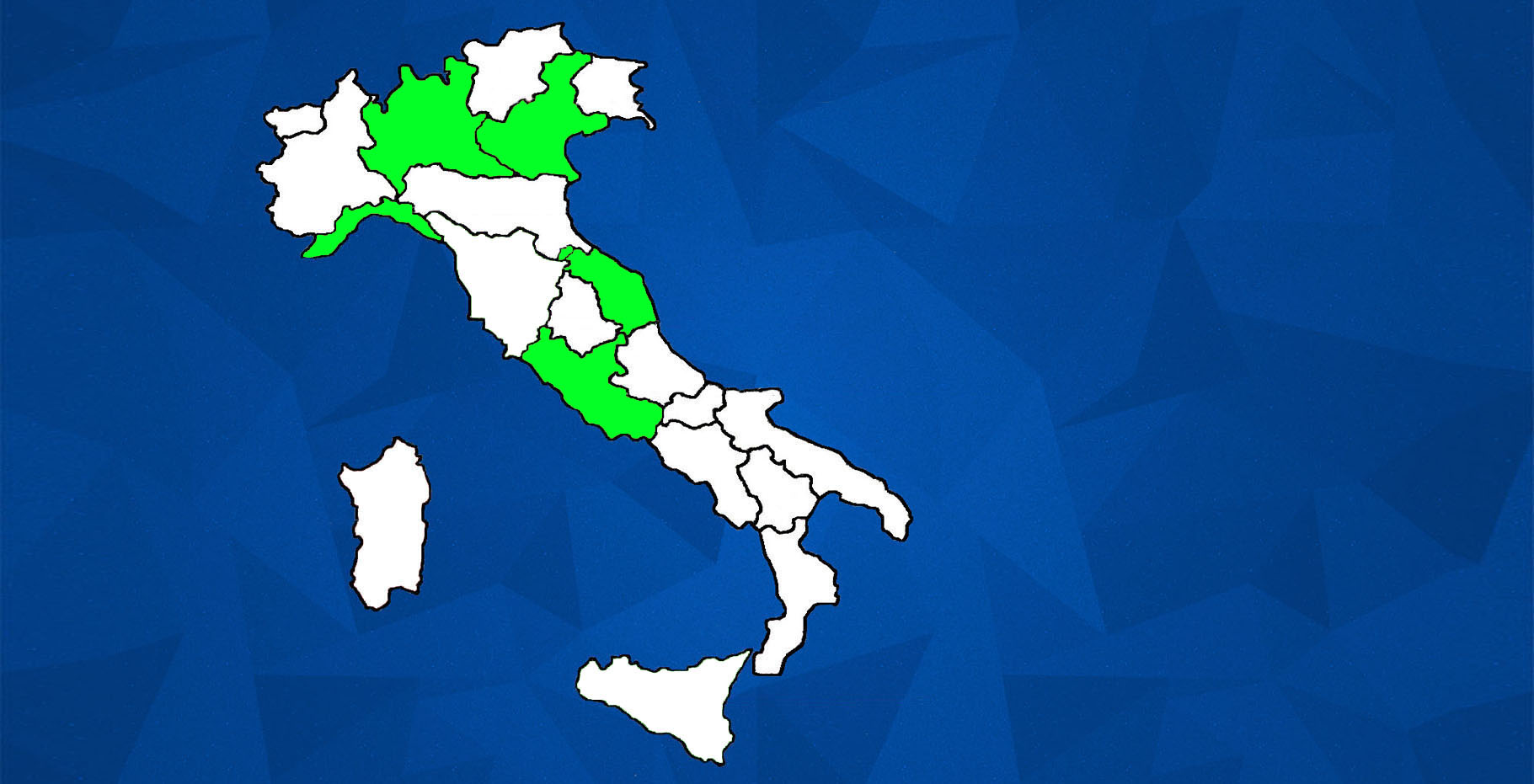 CIR JUNIOR ITALY MAP