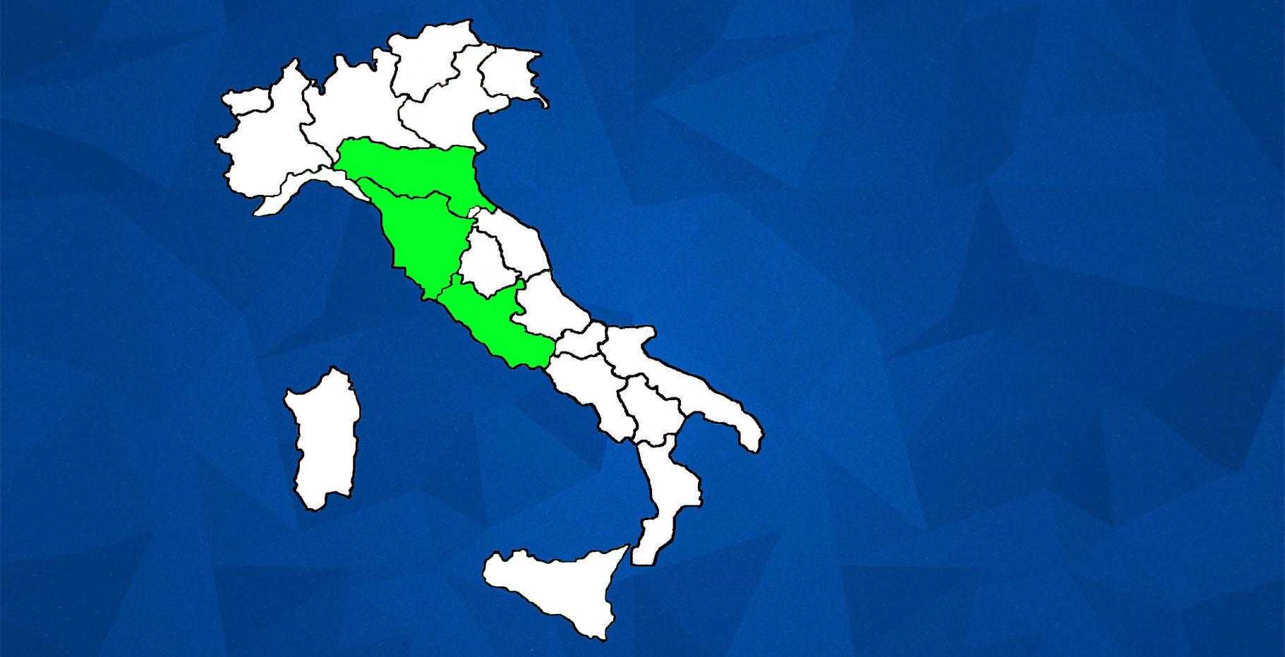 CIV ITALY MAP