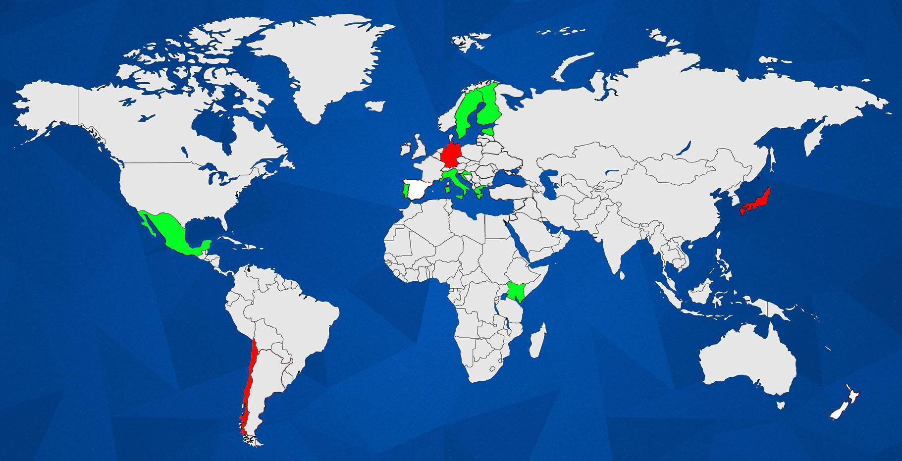 WRC MAP